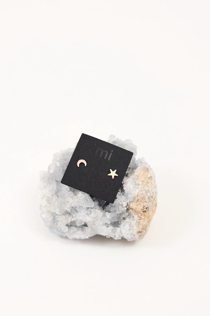 Celestial Stud Earrings