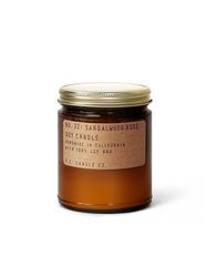 NO. 32: SANDALWOOD ROSE SOY CANDLE