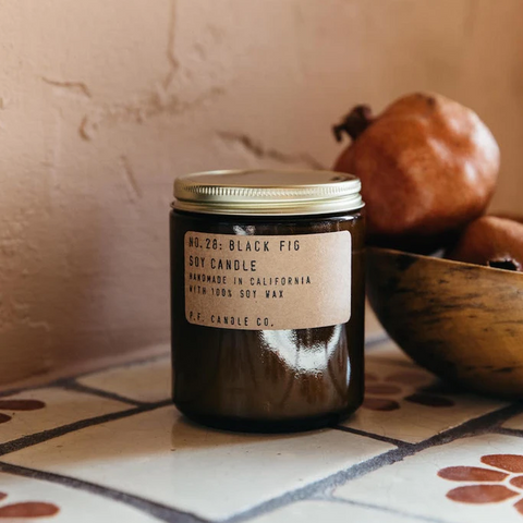 NO. 28: BLACK FIG SOY CANDLE