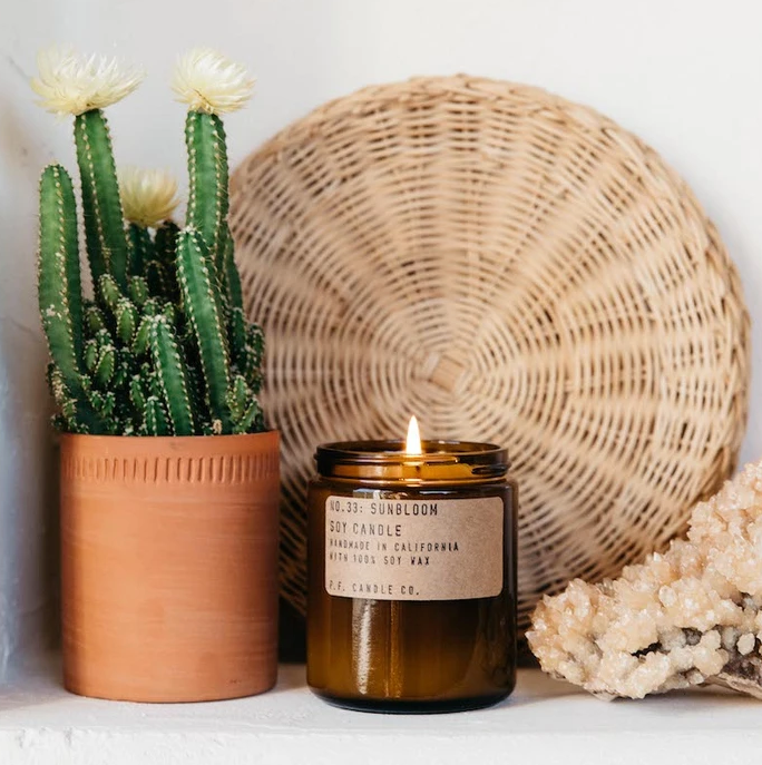 NO. 33: SUNBLOOM SOY CANDLE