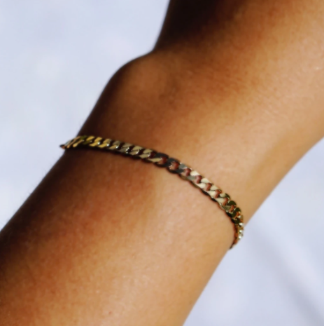 Thick Curb Chain Bracelet