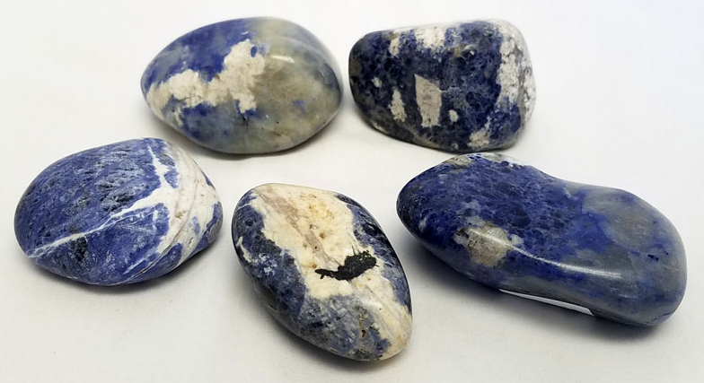 Polished Sodalite Pebble