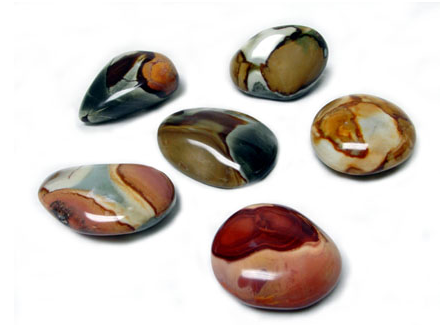 Polished Polychromatic Jasper Pebble