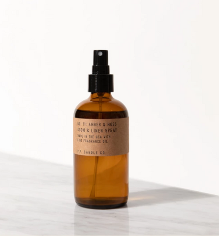 NO. 11: AMBER & MOSS ROOM/LINEN SPRAY
