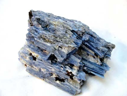 Rough Kyanite With Cut Base