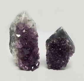 Amethyst Cluster With Natural Sides