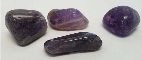 Polished Bahia Amethyst Pebble