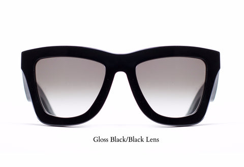 Ebony Metal Frame Sunglasses