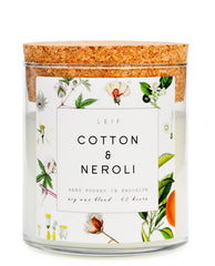 Cotton & Neroli Botanist Candle