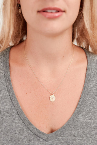 New Zealand Gold Coin Necklace