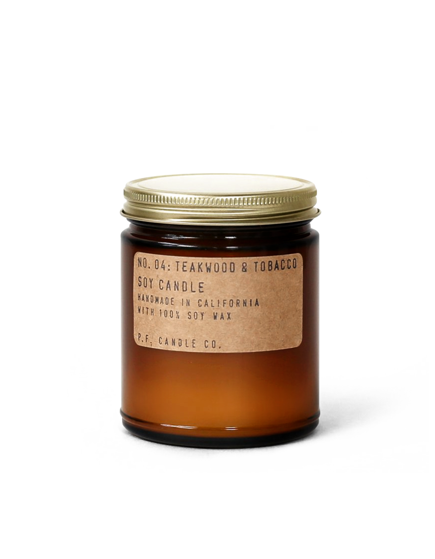 NO. 04: TEAKWOOD & TOBACCO SOY CANDLE
