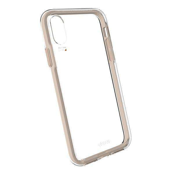"EFM Aspen D30 Case Armour for Apple iPhone XR (6.1"") - Clear/Gold 