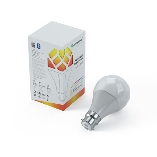 Nanoleaf Essentials Smart Bulb A60 | B22 (Pins) Tekitin Technology