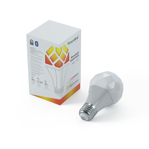 Nanoleaf Essentials Smart Bulb A60 | E27 (Screw) Tekitin Technology