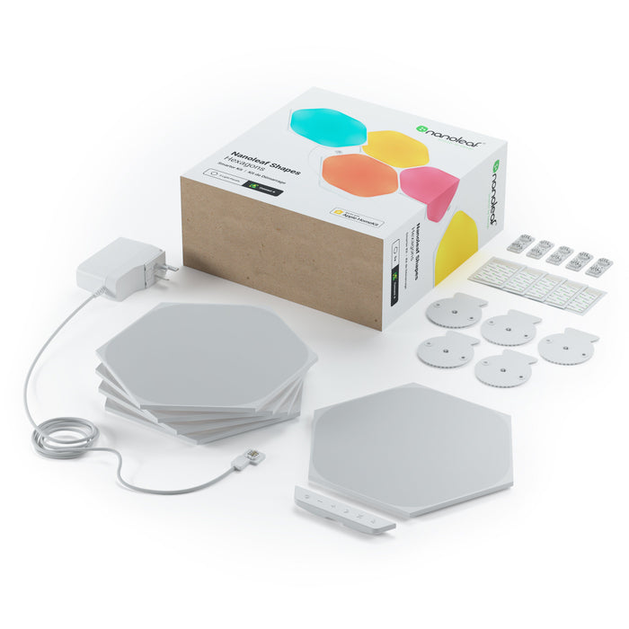 Nanoleaf Shapes Hexagons Starter Kit (5 Pack)