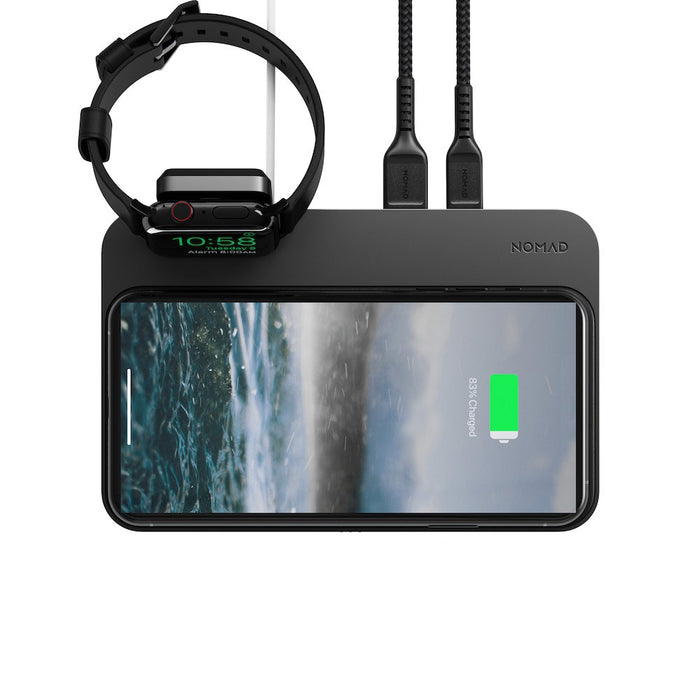 Nomad Base Station Charger with Apple Watch Stand (v2)