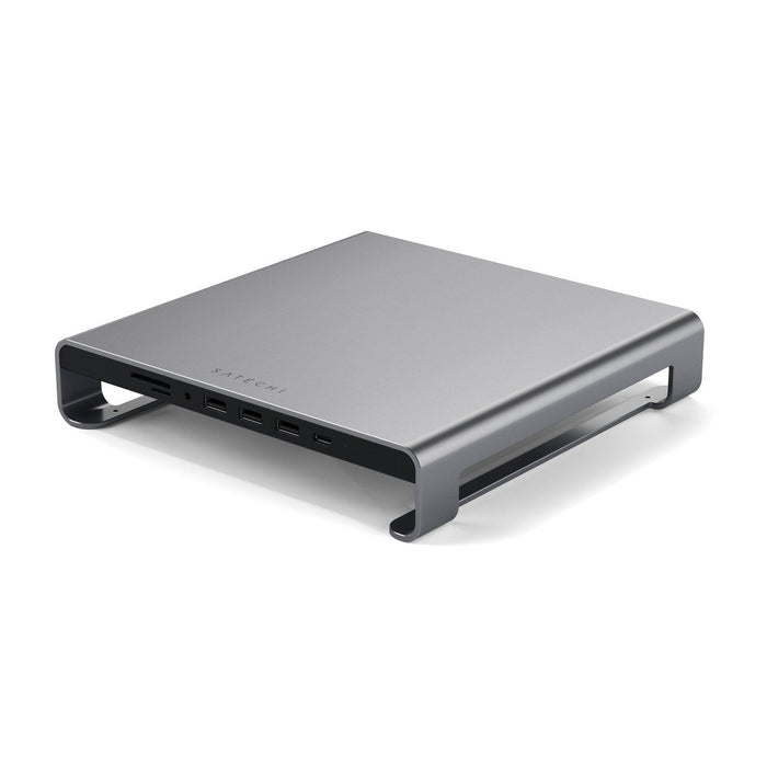 Satechi USB-C Aluminum Monitor Stand Hub for iMac