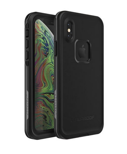 Lifeproof FRE Case for Apple iPhone Xs - Asphalt (Black) | LifeProof