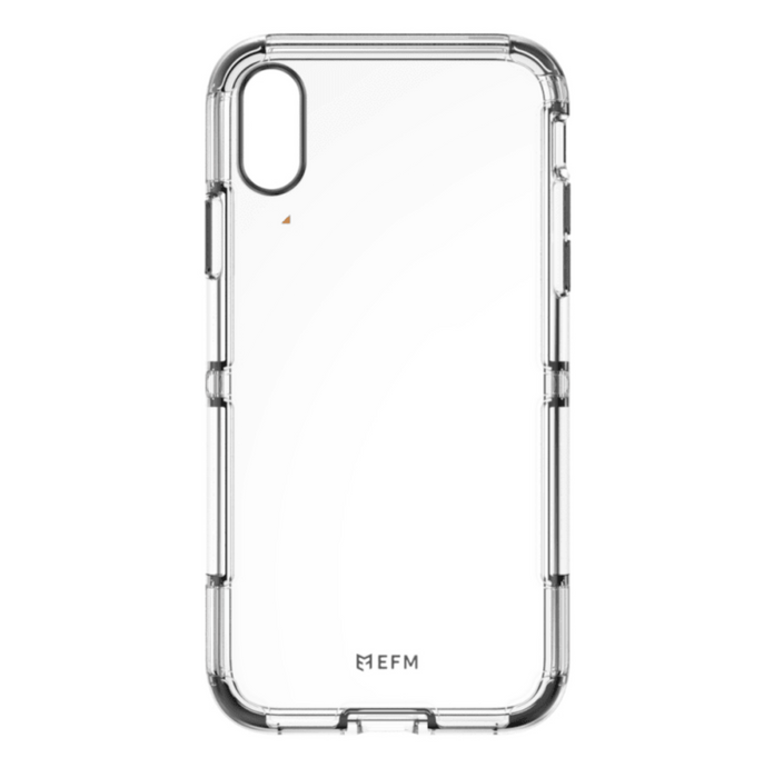 EFM Cayman Crystalex D3O Case Armour for Apple iPhone Xs Max - Crystal Clear | EFM