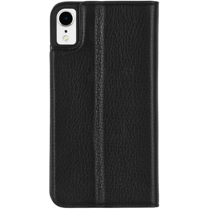 "Case-Mate Wallet Folio Minimalist Caste for iPhone XR (6.1"") - Black 