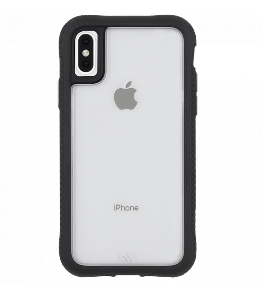 Case-Mate Translucent Protection Case for Apple iPhone Xs Max - Clear/Black | Case-Mate