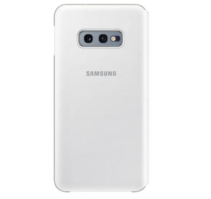 "Samsung LED View Cover for Samsung Galaxy 10e (5.8"") - White 