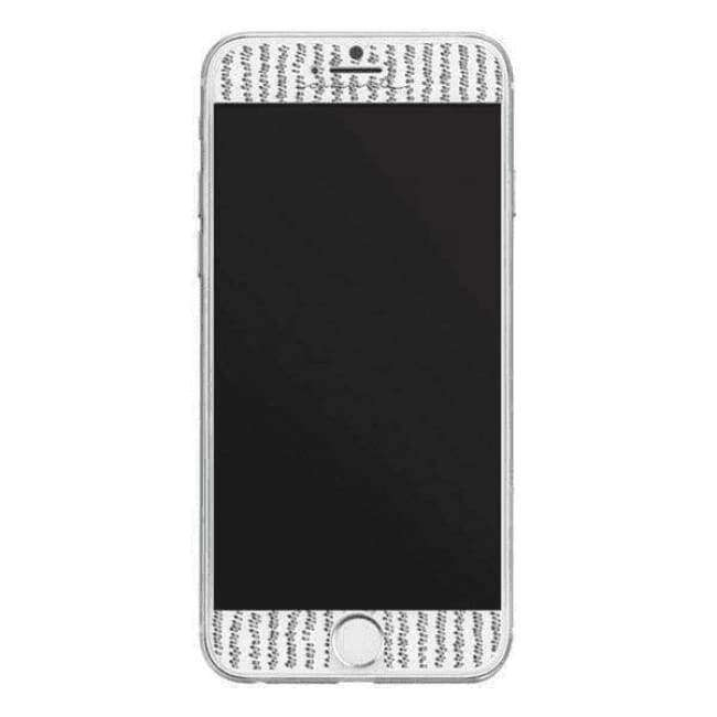 Case-Mate Gilded Glass Screen Guard for iPhone 6/6s/7/8 - Silver | Case-Mate