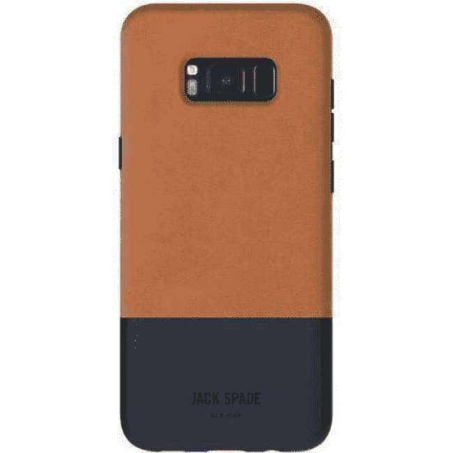 JACK SPADE Color-Block Case for Samsung GS8+ - Fulton Nav | Tekitin Technology