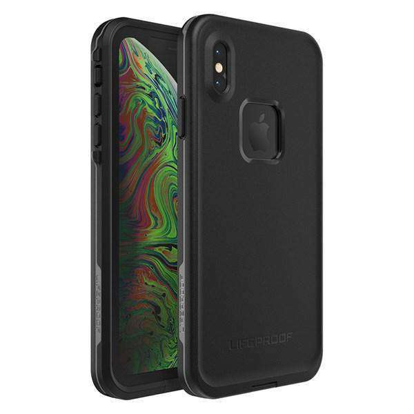 Lifeproof FRE Case for Apple iPhone Xs Max - Asphalt (Black) | LifeProof