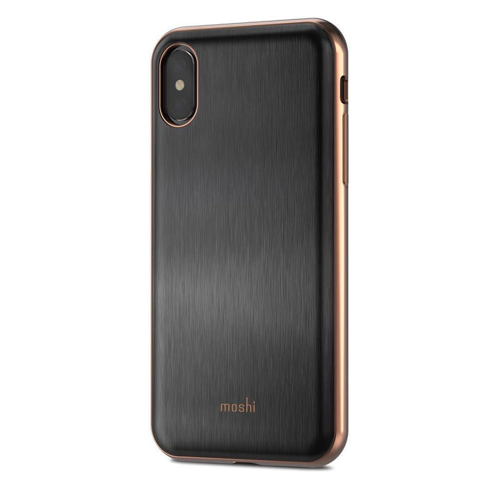 Moshi iGlaze Case for Apple iPhone X/Xs - Black