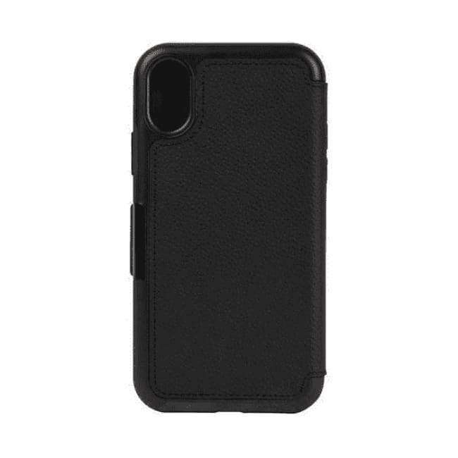 OtterBox Strada Case for Apple iPhone X - Black