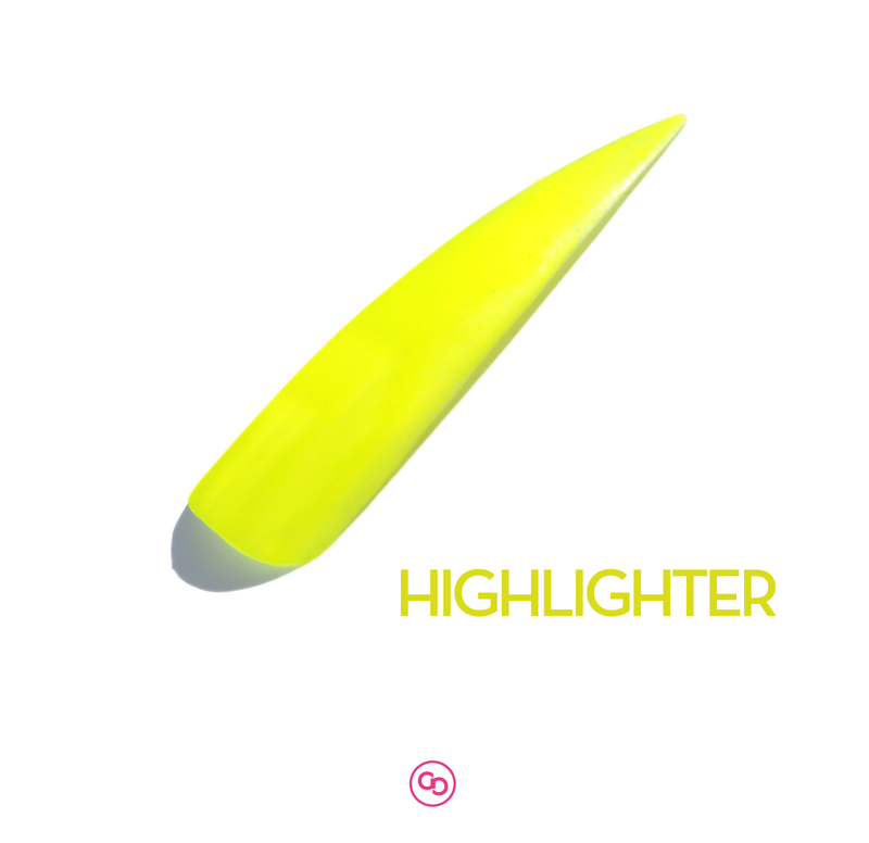 Highlighter Neon Yellow