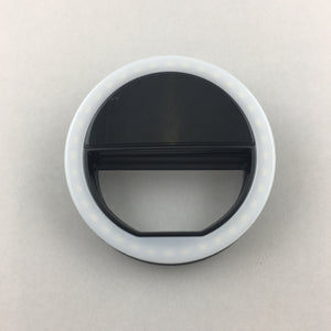 LED Ring Light - Black