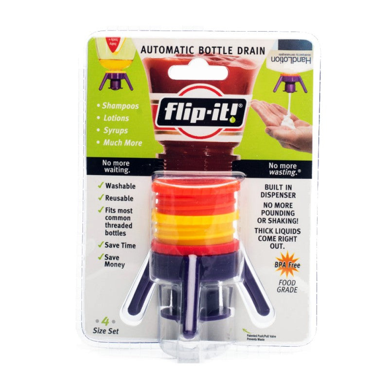 Single Pack Flip It Bottle Empty Kit