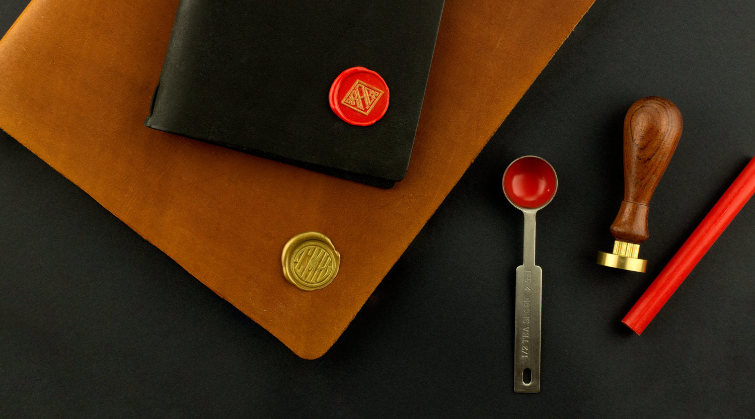 We've created new wax seal monogram stamps to help you express yourself!