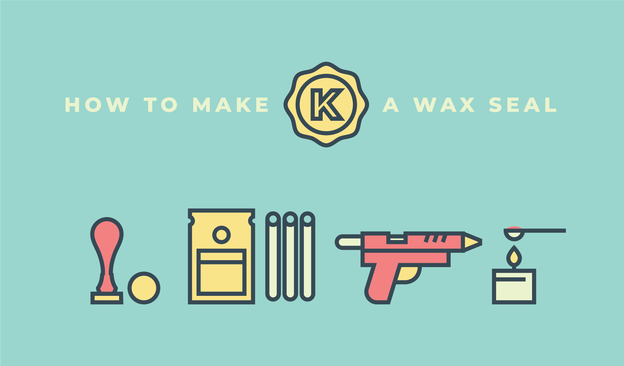 How to make a wax seal