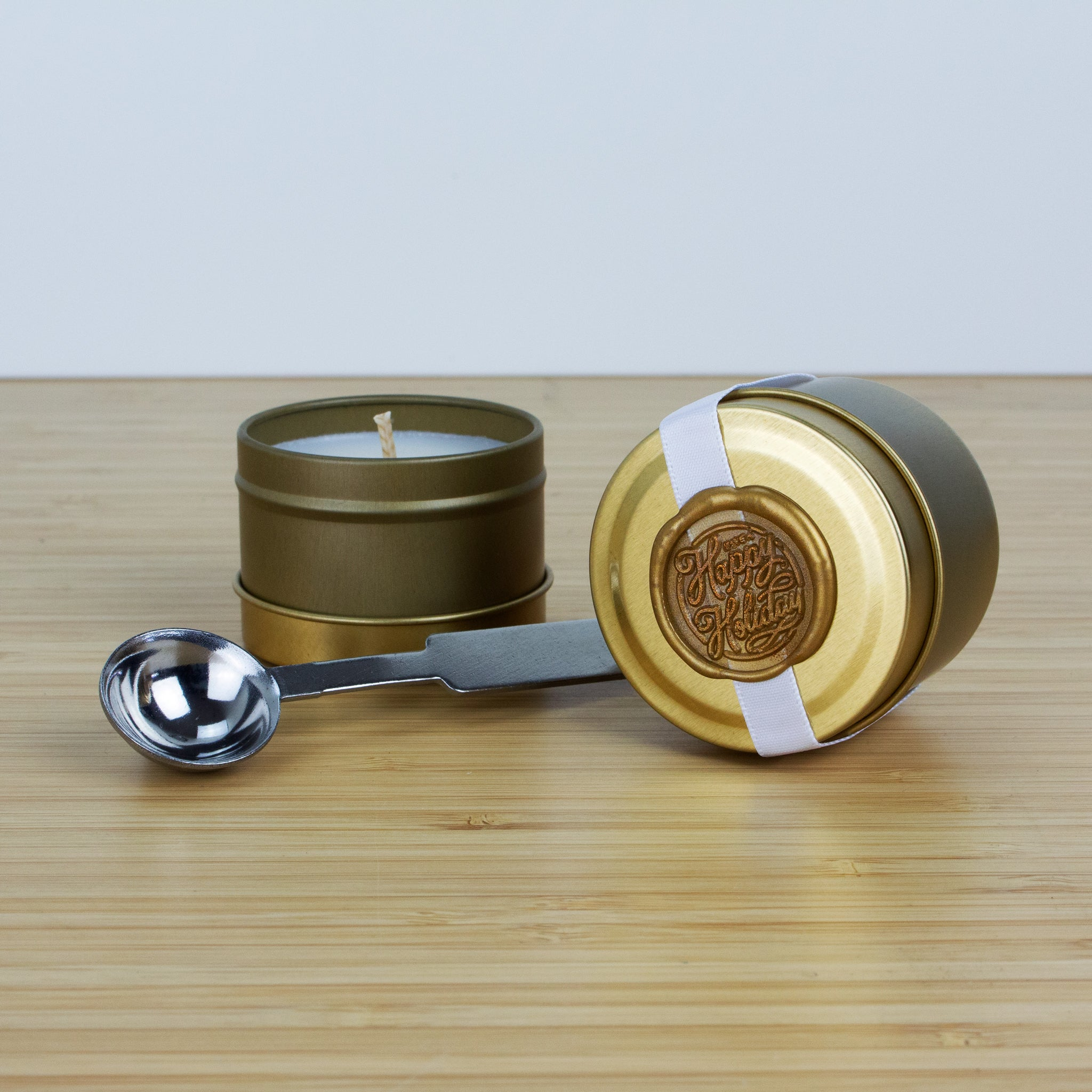 Melting Spoon & Candle - Christmas Gold Edition