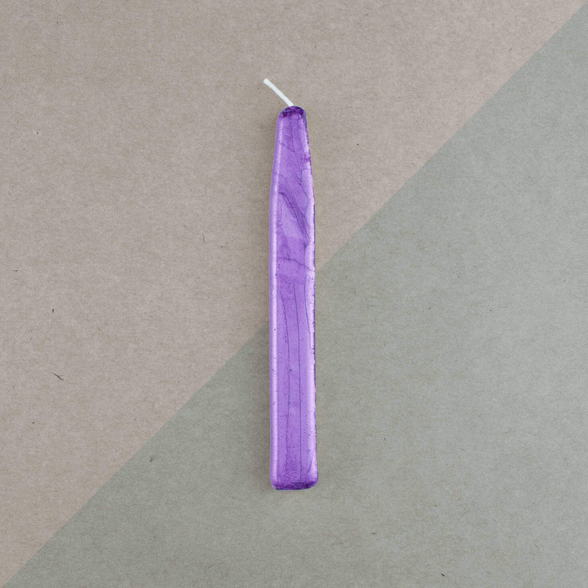 Kustom Haus Traditional Sealing Wax Stick with Wick - Violet Pearl