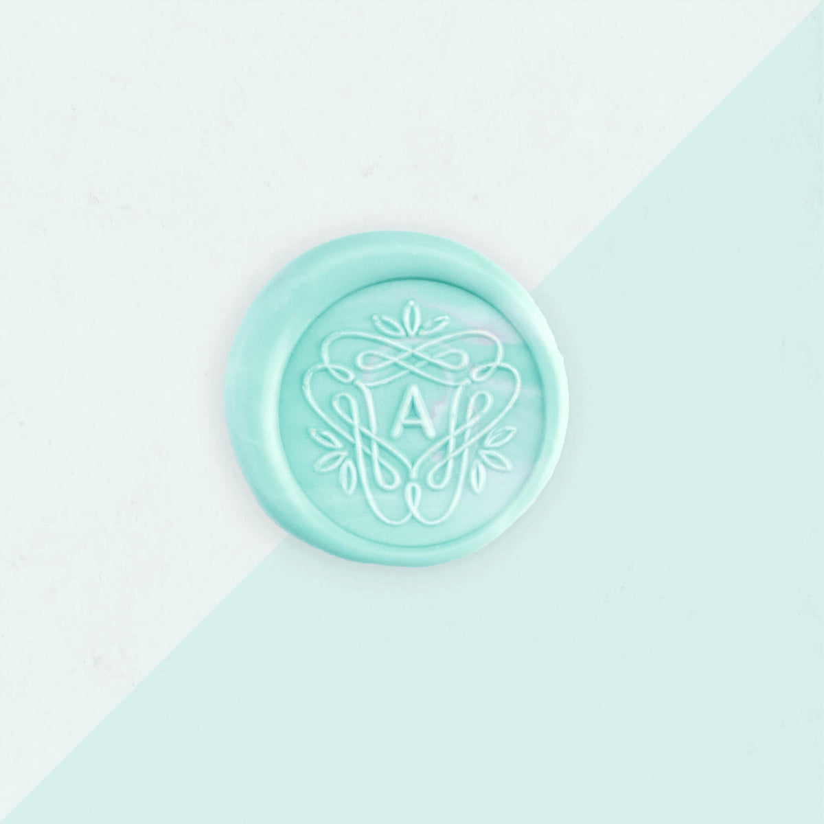 Wax Seal Stamp - Framed Monogram