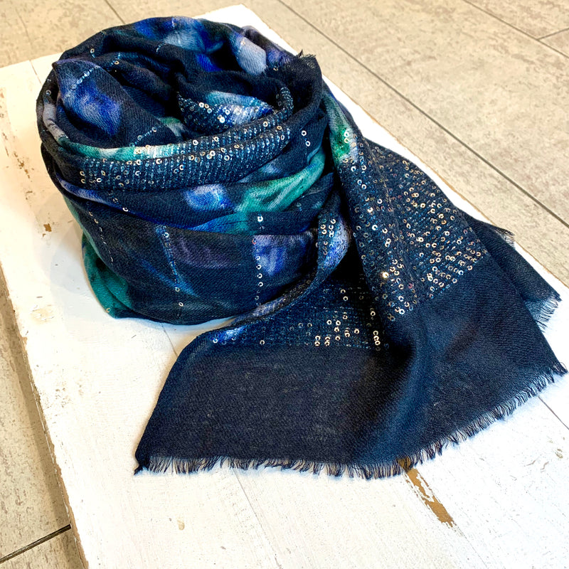 Ombre London Exotic Fibres Scarf