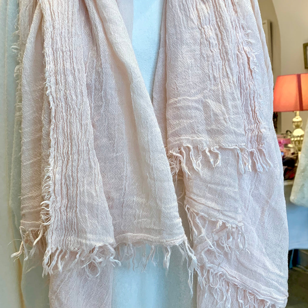 Powder Rose Scarf