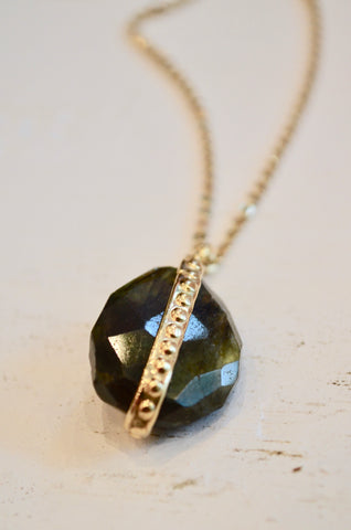 Labradorite Stone Necklace
