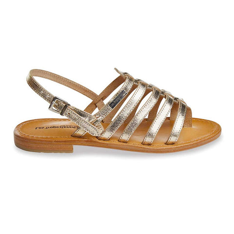 Herisson Gold Sandals