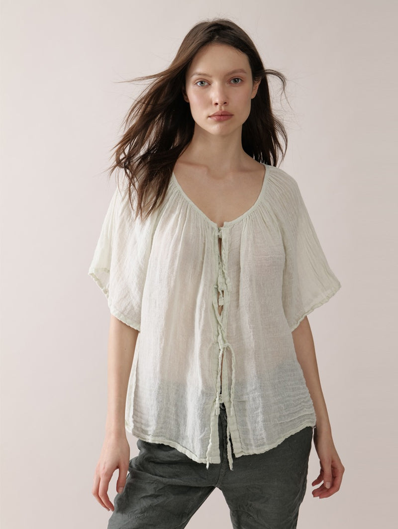 Sage Barbara Blouse