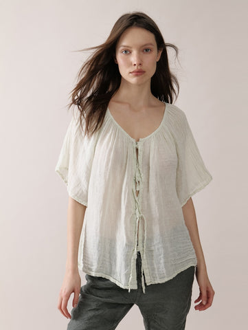 Barbara blouse in sage