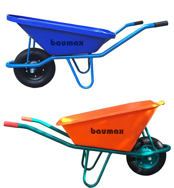 Baumax 130L Wheelbarrow