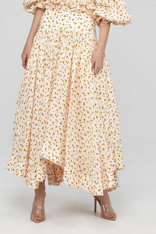 Ladies Acler High Waisted Maxi Skirt