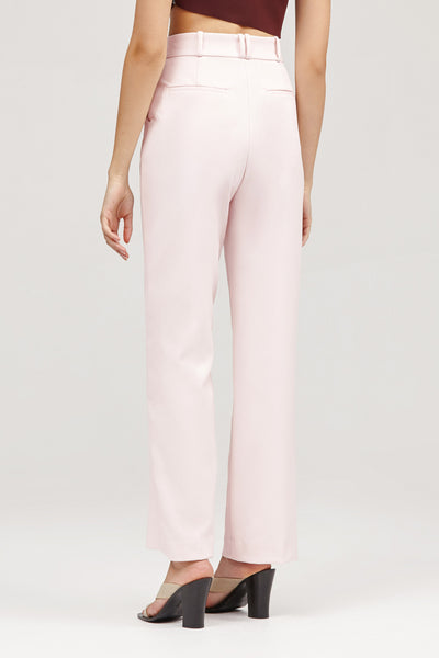 Pastel Pink Acler Lynne Tailored Pant Back Detail