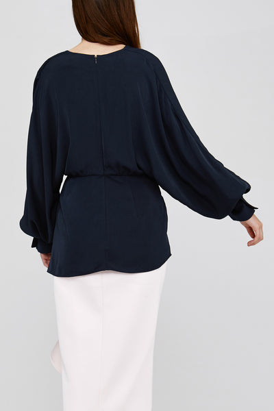 Back Detail on Black Acler Jenkins Blouse