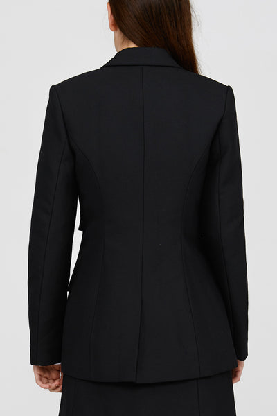 Black Acler Lynne Blazer Back Detail